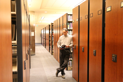 National University Library Mobile Storage System
